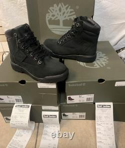 Timberland 6-Inch WP Men's Field Boots Waterproof Boots Black TB0A17KC Authentic