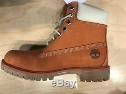 Timberland 6 Inches PRM Waterproof Boots New Gourd Orange A100DH39 Men