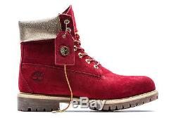 Timberland 6 Premium Construction Naughty or Nice Red size 11 Supreme Kith