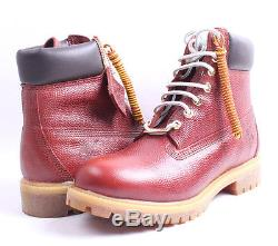 Timberland 6 Premium Football Leather Boots # A176M Brown Men SZ 7.5 11 18K