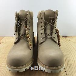 Timberland 6 Premium Waterproof Boots Size 14 Croissant A1BBL