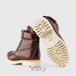 Timberland 6-inch Brogue Brown Chestnut Quartz Waterproof Boot Limited Edition