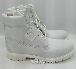 Timberland A1m6q 6 Inch Bt Wp White Men Size 12