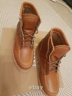 Timberland American craft Moc Toe Boots Red wing 8.5 UK, fits 9 UK NEW paid £300