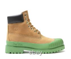 Timberland Bee Line 6-inch Rubber Toe Boots Tan Green Tb0a2m2y231 Size 8-13