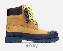 Timberland Bee Line 6-inch Rubber Toe Boots Tan Navy Tboa2m3w231 Size 8-13