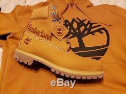 Timberland Boots 6 Inch Premium Timberland Side Panel Mens Size 10