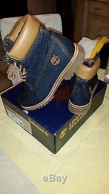Timberland Boots CONE DENIM WHITE OAK COLLECTION LIMITED RELEASE (SIZE 9,5)