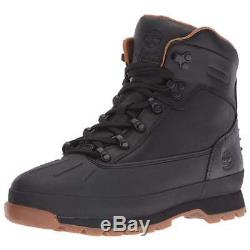 Timberland Boots Euro Hiker Mens Shell Toe Hiking Boots Black New Authentic