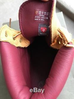 Timberland Boots Limited Edition Wheat Burgundy Nappa Field 10.5 DTLR exclusive