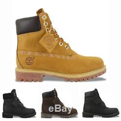 Timberland Boots NEW Timberland 6 Inch Boots Wheat YellowithBlack-100% GENUINE