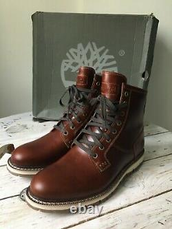 Timberland Britton Hill brown boots UK 8.5 43 27cm sole