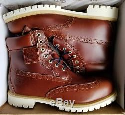 Timberland Brogue Chestnut 6 Boots Size 13 Ds