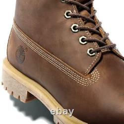 Timberland Classic 6 Inch Premium Wide Fit Waterproof Mens Brown Boots Size 7-11