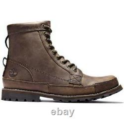 Timberland Earthkeepers Original 6 Inch Leather Boots oiled nubuck dark brown