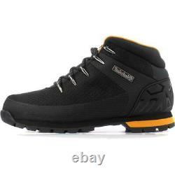 Timberland Euro Sprint Hiker Mens Black Waterproof Lace Up Ankle Boots Size 7-11