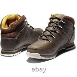 Timberland Euro Sprint Hiker Mens Grey Lace Up Ankle Boots Size UK 7-11