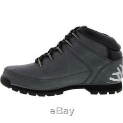 Timberland Euro Sprint Mid Hiker Mens Grey Lace Up Ankle Boots Size 7-11