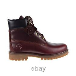 Timberland Heritage 6 Inch Waterproof Men's Boot Md Brown Full Grain TB0A22W9