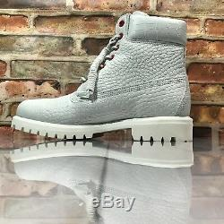 Timberland Limited Release White Serpent Mens Size 10.5 Waterproof 6 Inch Boots