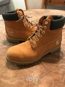 Timberland Mastermind Tan/Wheat Leather Lace Up Boots Size 9.5 US