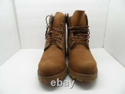 Timberland Men's 6 Classic Premium Fashion Work Boots A1M7D Brown Size 8.5M