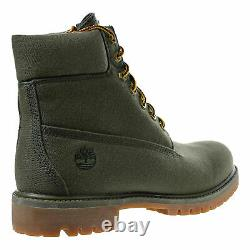 Timberland Men's 6 Inch Boots TB0A1PBX Fabric Olive Green NEW IN BOX 6' Timbs