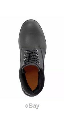 Timberland Men's 6 Inch Premium Black Leather Boots Size 11 M Waterproof 10054