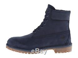 Timberland Men's 6 Premium Water Proof Boots 6718b Navy Limited Release