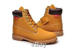 Timberland Men's Boot 6 Inch 6336A Wheat Helcor Scuff Water Proof Impressions