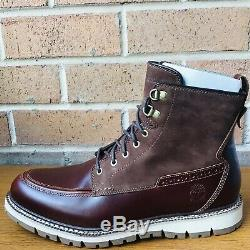 Timberland Men's Britton Hill Moc Toe Waterproof Boots A1523 Size8.5