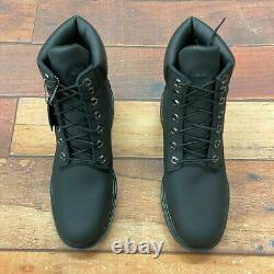 Timberland Men's Classic 6 Inch Black Helcor Leather Boots 6335A