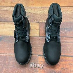 Timberland Men's Heritage EK+ 6 Inch Black Leather Boots A29P7