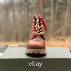 Timberland Men's Premium 6 Boots-Limited Holiday Edition-Sugar & Spice Size 7