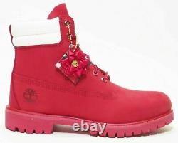 Timberland Men's Premium 6 Limited Holiday Edition Double Collar Red A2bzc 11