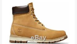 Timberland Men's Radford 6 Waterproof Casual Boots Shoes Wheat Brown Nubuck