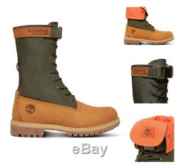 Timberland Men's Rare Limited Release Mixed-media Gaiter Boots A1qy8231
