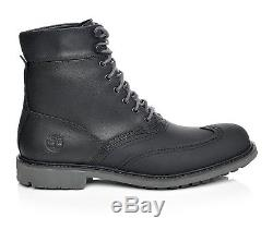 Timberland Men's Stormduck Waterproof Leather 6 inch Duck Boots Shoes A17XX USA