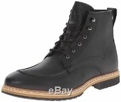 Timberland Men's West Haven Black 6 Inch Waterproof Boots Shoes Chukka A138q