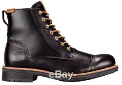 Timberland Men's Willoughby 6 Waterproof Leather Casual Lace-Up Boot Black