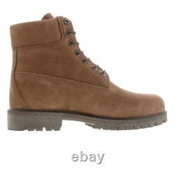 Timberland Mens 6 Heritage Waterproof Winter Snow Trail Work Boots Shoes