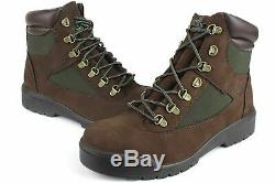 Timberland Mens 6 Inch Field Boot Brown/Green