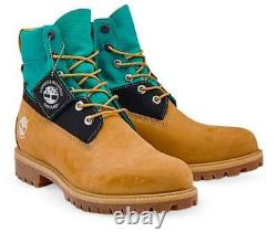 Timberland Mens 6 Inch Treadlight Premium 6 Inch Leather Boots Wheat Style A3ZXV