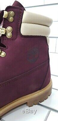 Timberland Mens 6 inch Premium Double Collar Port Royale Boots Size 11 NEW