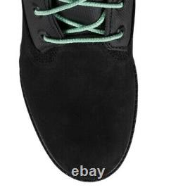 Timberland Mens 6-inch Rsvp Gallery Gaiter Black Boot Size 10.5