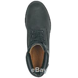 Timberland Mens Icon 6 Inch Work Boots Style 19039 Black All Sizes New