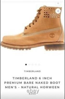 Timberland Mens Limited Premium 6 Bare Naked Boot Natural Horween A1bbj Size 9