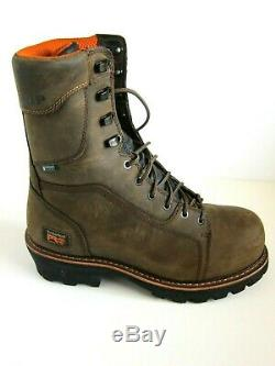 Timberland PRO 89656 Rip Saw Composite Toe Waterproof Logger Boots SZ 10.5D
