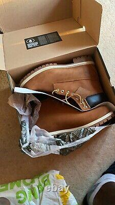 Timberland Premium 6 Inch Men's Boots Light Brown, Size 11