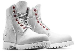 Timberland Serpent White Limited A1p9q100 6 Inch Waterproof Boots Size 8.5